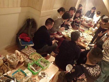 野食新年会2017(野食会第6回)に紛れ込んできました